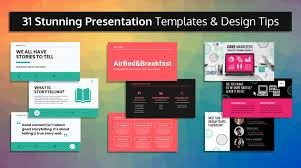 Customize it to your liking, create your own, or get free design services now! 33 Stunning Presentation Templates And Design Tips