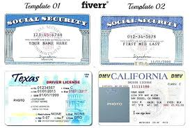 Security Card Template Make A Fake Social Security Card Fake Social Security Card Template