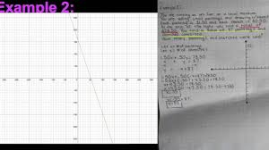 algebra 2 portfolio project systems of linear equations
