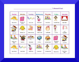 Reward Chart For 2 Year Old Free Printable Behavior Charts For Kids