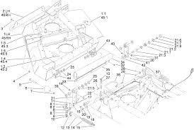 toro parts groundsmaster 4100 d rotary mower 46rh Transmission Wiring Harness Diagram right hand and left hand deck installation assembly 46rh transmission wiring diagram