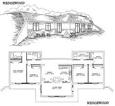 EarthSheltered Atrium Home PlanEarth Contact Home Plans
