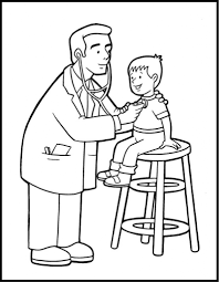 Small Picture Free Printable Community Helper Coloring Pages For Kids with