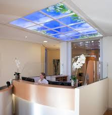 suspended office lighting. office reception replacement led ceiling lighting suspended