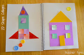 learning about shapes 2d and 3d shapes learning activities kindergarten and aged children