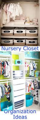 baby closet organization ideas how to organize the baby closet diy nursery closet organization