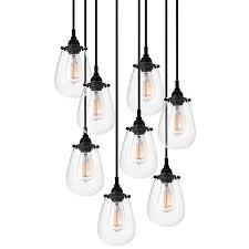 industrial pendant lighting. chelsea multilight pendant by sonneman industrial lighting