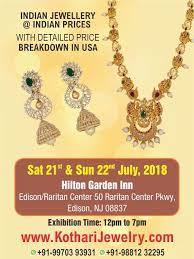 kothari jewellery exhibiton at edison nj jewellery designs