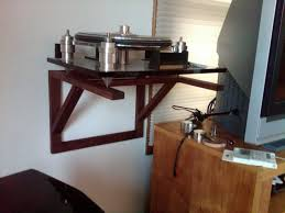 Turntable wall shelf that I threw together. | Audiokarma Home Audio Stereo  Discussion Forums