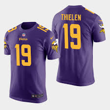 Rush - Men's Color T-shirt Purple Vikings Thielen Adam