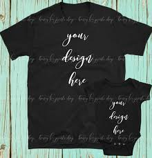 T Shirt Template Interesting Black Shirt Mockup Baby Bodysuit Mockup Shirt Template Etsy