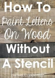wood pallet painting ideas. diy rustic wood sign tutorial pallet painting ideas