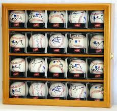 multiple baseball display cases baseball cubes display case cabinet holder wall rack w protection home ideas multiple baseball display cases