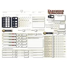 dungeons and dragons character sheet online find printable d d character sheets to enhance your game session