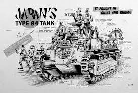 Japan Type 94 Tank By Peter Sarson At The Illustration Art Gallery