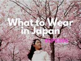 What to Wear in <b>Japan</b> in <b>Spring</b> 2020 - <b>Japan</b> Web Magazine
