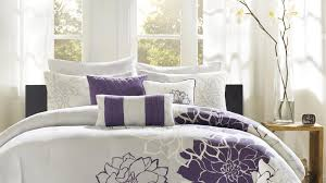 splendid design of the modern bedding sets with white bed cover