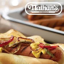 Nathan's Hot Dog Vending Machine Adorable Nathan's Famous Original BunLength Skinless Franks Great To Grill