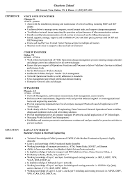 Ip Engineer Resume Samples Velvet Jobs