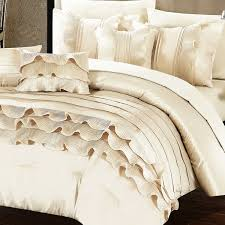 sahara ruffled comforter and sheet set 10 piece