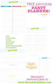 Party Planning Lists Karas Party Ideas Free Printable Party Planner Download