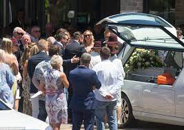 Mourners farewell Sydney woman Danielle McGrath killed by truck on her way  to work | Daily Mail Online