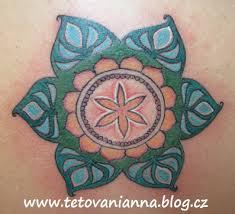 Tetování Barevná Mandala Na Zádech Dovol Sám Sobě Svobodně žít