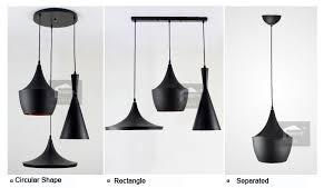 100 brand new with high quality model metal pendant lamp voltage 110 130v 220 240v white black color golden inside 3 e27 light bulbs