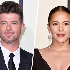robin thicke.  Thicke The Police Were Called Last Week When A Regular Custody Handoff Between  Paula Patton Robin Thicke And Courtappointed Monitor Got Messy With Thicke K