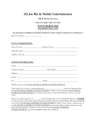 dj contract template invitation templates d j contracts real dj contract template invitation templates d j contracts
