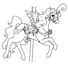 flying horses coloring pages