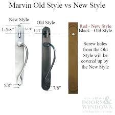 marvin hardware sliding door handle unavailable sliding door handle old style passive no key no thumb marvin hardware collection integrity sliding door