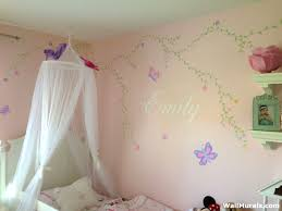 Girls Room Wall Murals - Examples of Wall Murals for GirlsWall Murals by  Colette