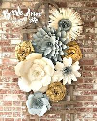 3d flower wall decor wall decor flowers large paper flower wall decor for nursery weddings bridal