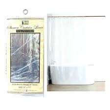 shower curtain liners transpa liner vinyl magnetic mildew new inch 84 72 x clear