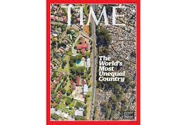 Cover on Inequality in South Africa ...