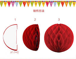 How To Make Paper Balls For Decoration Unique 32pcs Rainbow Honeycomb Balls Decorative Paper Lantern Balls For
