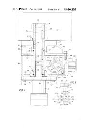 patent us4616803 declutchable valve override google patents patent drawing