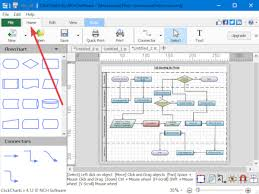 Free Program To Make Charts Clickchart Is A Free Diagram Flowchart Software For Windows 10