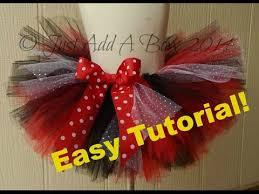 How To Make An Easy No Sew Tutu With Elastic Waistband