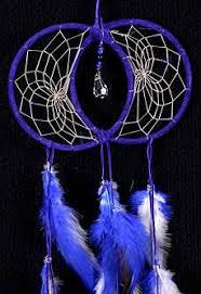 Double Dream Catchers Blue Soul Connection Double Dream Catcher DreamCatcher 29