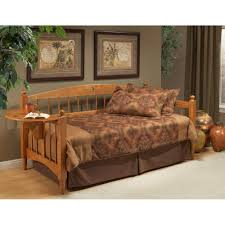 Medium Oak Bedroom Furniture Dalton Daybed In Medium Oak By Hillsdale Furniture Humble Abode