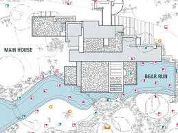 falling water house plan dwg house architectural plans pdf 2 y house architectural plan pdf