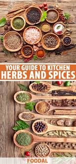 Spices Chart For Food Your Ultimate Guide To Kitchen Herbs Spices The Complete