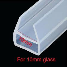 shower rubber seal 3 meters u shape bath shower screen door window silicone rubber seal strip weatherstrip for shower screen rubber seal replacement bq