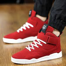<b>YeddaMavis</b> Men Shoes Red Men Sneakers Casual <b>Running Shoes</b> ...