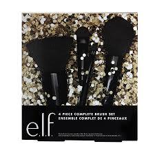 elf brands 4 piece plete brush set1 0 ea