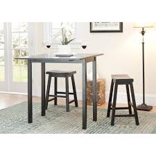 Industrial Pub Table Sets Square Pub Tables Bistro Sets Youll Love Wayfair