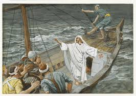 Image result for jesus on the sea of galilee