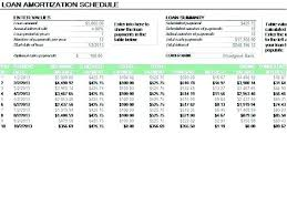 Loan Format In Excel Amortization Schedule Calculator Excel Sample Schedules Loan Payment